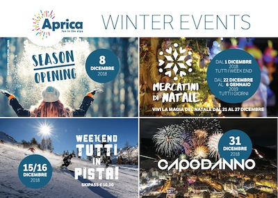 Season opening party ad APRICA